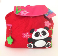 Panda Quilted Backpack